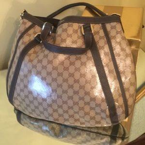 """""""""""Authentic """" Crystal Coated GUCCI Tote"""